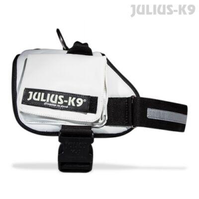 1-es méretű, fehér Julius-K9 Terápiás kutyahám