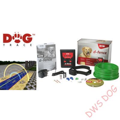 Dog Trace d-fence 101 láthatatlan villanypásztor szett- 100 méter vezetékkel, kutya villanypásztor