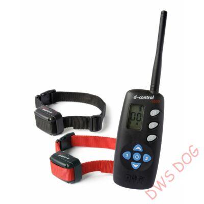 Dog Trace d-control 1602 (1600 m), 2 nyakörves elektromos kutyakiképző nyakörv