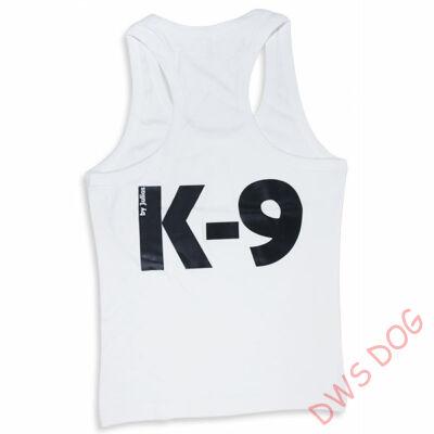 01b4c8e837 K9 Trikó fehér - női, méret: XL