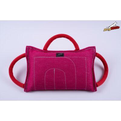 DogTech -  pink, francia anyagú harapópárna