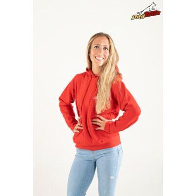 DogTech - Piros, S-méretű, női pulóver