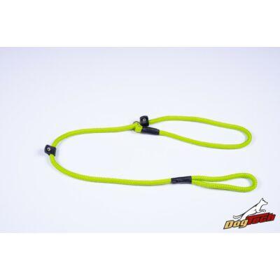 DogTech - Neonzöld, 10 mm átm./120 cm, textil retriverpóráz