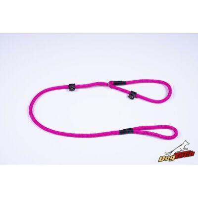 DogTech - Pink, 10 mm átm./120 cm, textil retriverpóráz