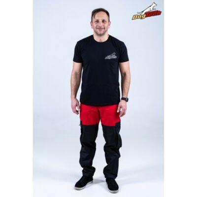 DogTech - Piros, S-méretű, férfi kiképzőnadrág