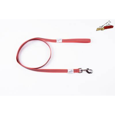 DogTech - Fogós, piros, 20 mm/2 m, gumis textil kutyapóráz