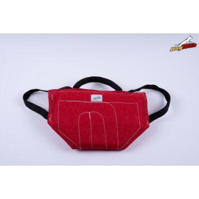 DogTech - piros, francia anyagú, előreküldő párna