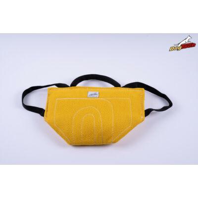 DogTech - sárga, francia anyagú, előreküldő párna