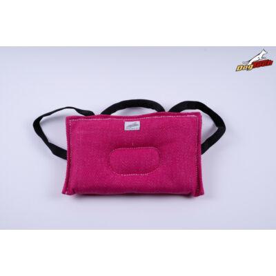 DogTech - pink, francia anyagú, soft, előreküldő párna