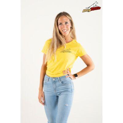 DogTech - Sárga, XS-méretű, női póló