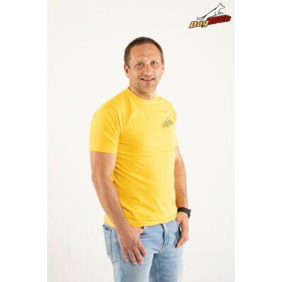 DogTech - Sárga, XL-méretű, férfi póló