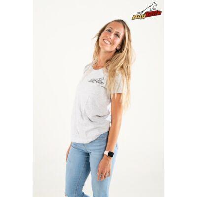 DogTech - Szürke, XS-méretű, női póló