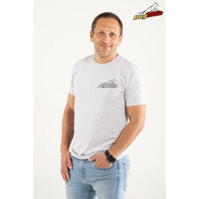 DogTech - Szürke, XL-méretű, férfi póló