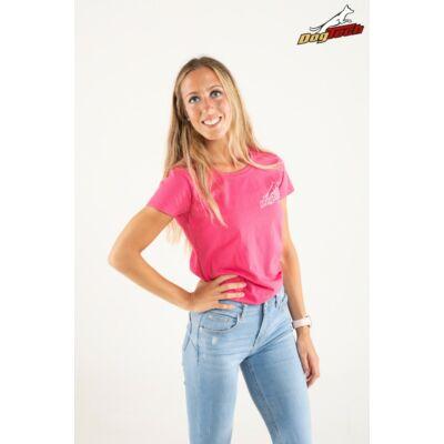 DogTech - Pink, női póló