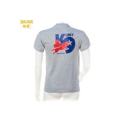 K9-USA póló, szürke - méret: XL
