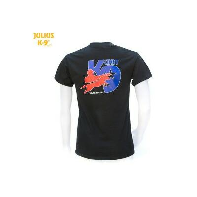 K9-USA póló fekete - méret: S (-től)