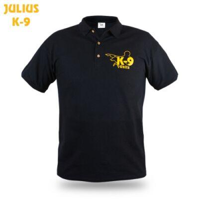 K9 Férfi galléros póló - méret: XL