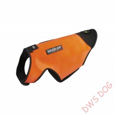 M-es méretű, UV Narancs Neoprén IDC kutyaruha