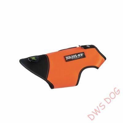 S-es méretű, UV Narancs Neoprén IDC kutyaruha