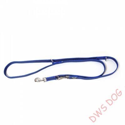 C&G kék, 20 mm széles, 2,2m, állítható kutyapóráz