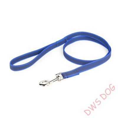C&G kék, 14 mm széles, 1,2 m, fogós kutyapóráz