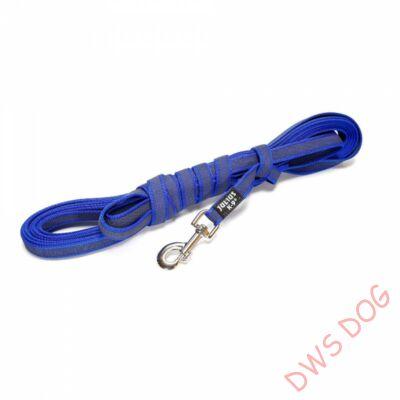 C&G kék, 20 mm széles, 3 m, fogós kutyapóráz