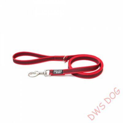 C&G piros, 14 mm széles, 2 m, fogós kutyapóráz