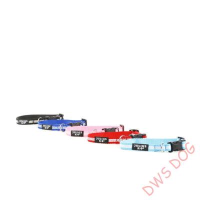 IDC csőheveder, kék, 14 mm széles kutyanyakörv