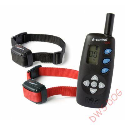 Dog Trace D-control 642 (600 m), két nyakörves, vibrációs kutyakiképző nyakörv