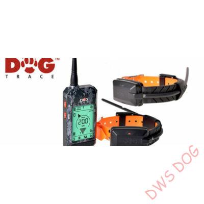 DOG GPS X22 GPS-RF, helyzetmeghatározó, 2 kutyás GPS kutyanyakörv szett