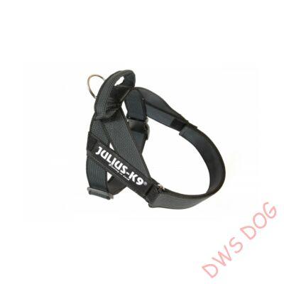 Nullás méretű, fekete IDC heveder kutyahám