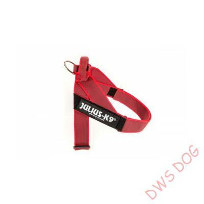 Nullás méretű, piros IDC heveder kutyahám