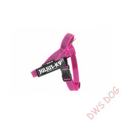 Mini méretű, pink IDC heveder kutyahám