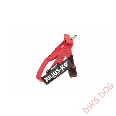 Mini-mini méretű, piros IDC heveder kutyahám
