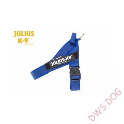 Mini-mini méretű, kék IDC heveder kutyahám