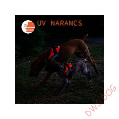 Baby 2 méretű, UV Narancs IDC kutyahám