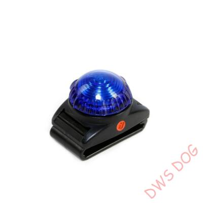 Kék LED villogó kutyahámra