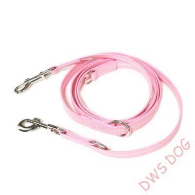 IDC LUMINO pink, 2,2 m hosszú, állítható kutyapóráz