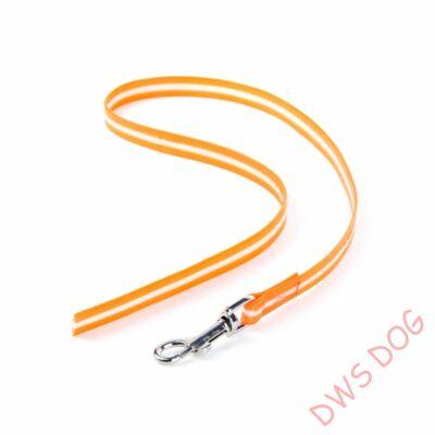 IDC LUMINO narancs, 1 m hosszú, fogó nélküli kutyapóráz