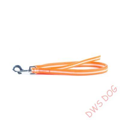 IDC LUMINO narancs, 2 m hosszú, fogó nélküli kutyapóráz