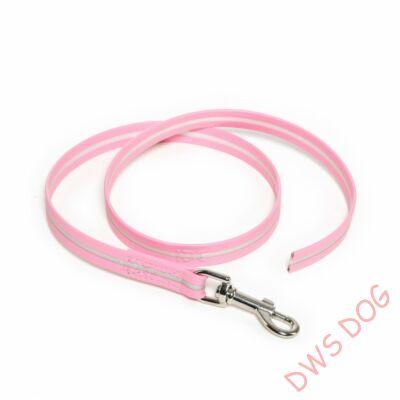IDC LUMINO pink, 1 m hosszú, fogó nélküli kutyapóráz