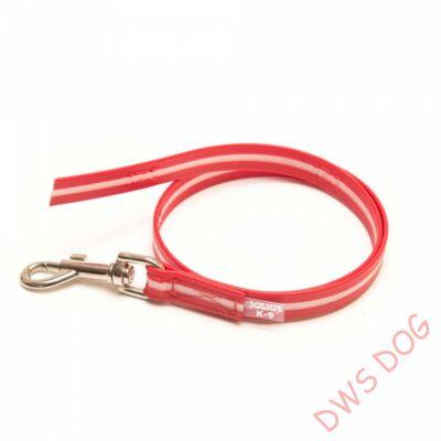IDC LUMINO piros, 1 m hosszú, fogó nélküli kutyapóráz