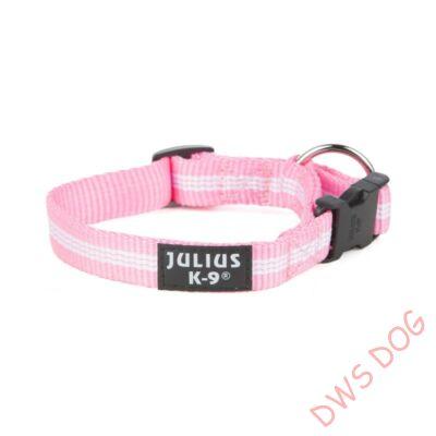 IDC csőheveder, pink, 19 mm széles kutyanyakörv