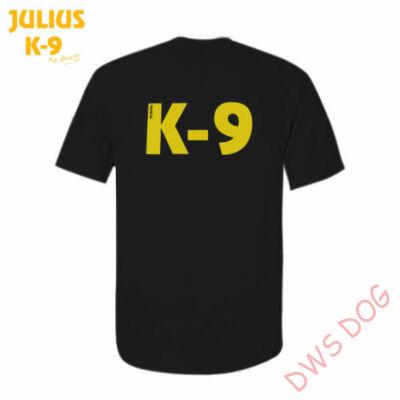 K9 póló, fekete - méret: 4XL