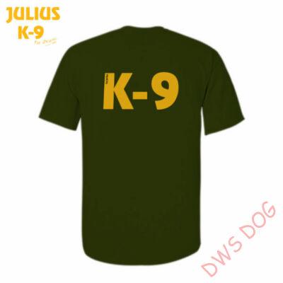 K9 póló, olajzöld - méret: XL