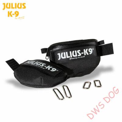 Univerzális IDC oldaltáska Baby 1 - Mini-mini méretű Julius-K9 hámmodellhez, fekete