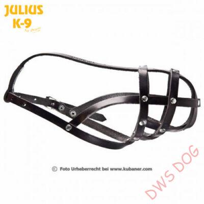 Julius-K9 - 17103-L - Törpe pincsi, törpe snaucer bőrszájkosár