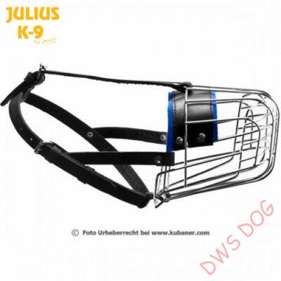 Julius-K9 fémszájkosár - 190P4 -Szolgálati kutyáknak, belga juhász, német juhász