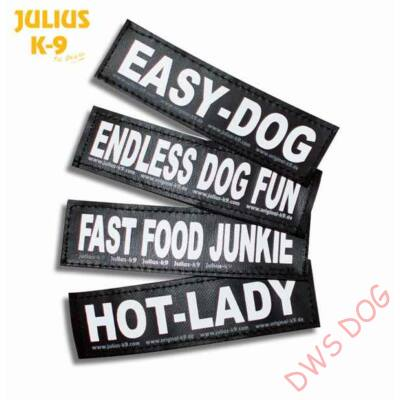 ASSISTANCE DOG- felirat - kicsi